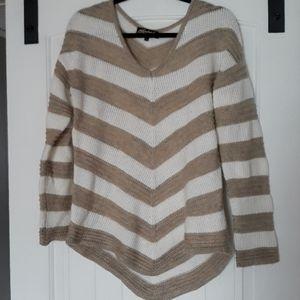 Chevron striped sweater